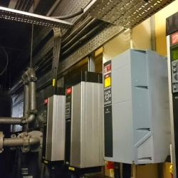 Danfoss FC102 replacement of VLT5000 carried out under contract
