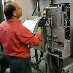 K2 Danfoss VLT commissioning